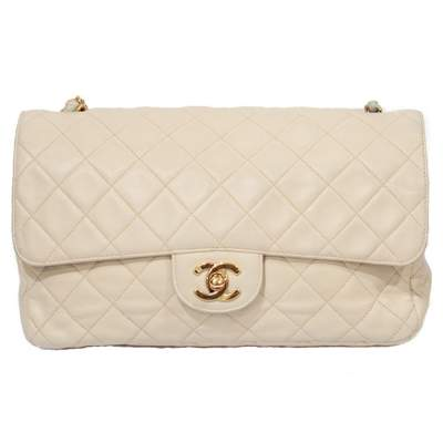 Lamb leather quilted Bag -0