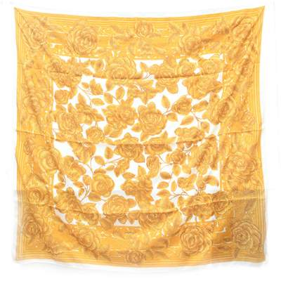 Square silk Scarf-0