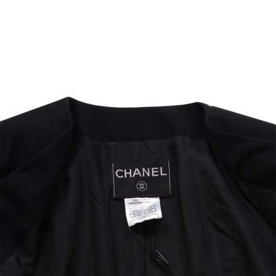 Short cross fastening wool Jacket -5