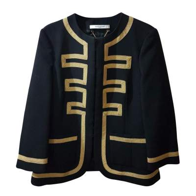 Black and golden Jacket -0