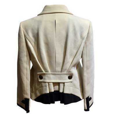 Flared wool Jacket -3