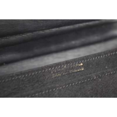 Vintage 40's mini Hermes Deer Leather Bag with 18k Gold Clasp-7