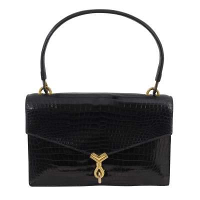 Vintage Croco Bag-0