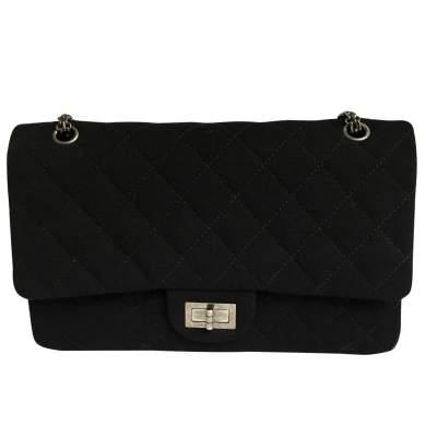 Black jersey 2.55 Bag -0