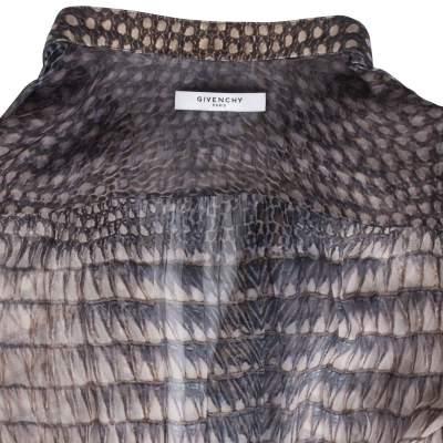 Silk printed Dress -5