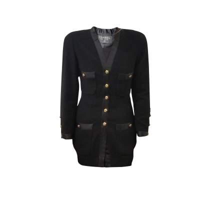 Vintage Black Suit-0