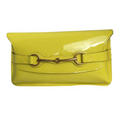 Patent leather Clutch-1