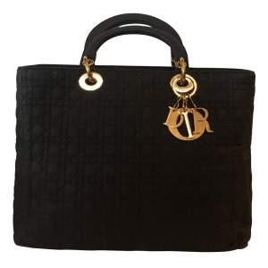 Black Lady Dior canvas Bag-0