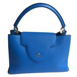 Blue Capucine Handbag-0
