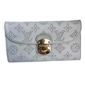 Perforated leather Monogram Wallet-0
