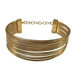 Multi row Torq Necklace. -0