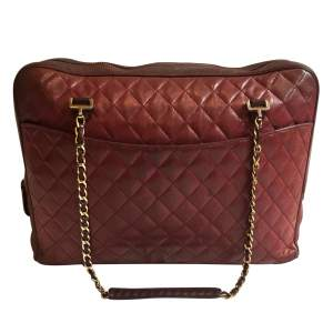 Vintage Camera Burgundy Handbag-0