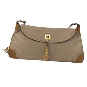Vintage beige suede  Bag-0