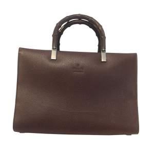 Vintage Bamboo Handbag-0