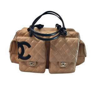 Quilted Cambon Reporter Leather  Bag -0