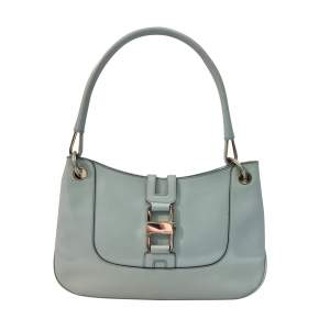 Light blue patent leather  Bag-0