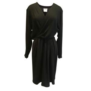 Vintage year 1989 silk Dress -0