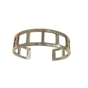 Rigid silver Bracelet-0