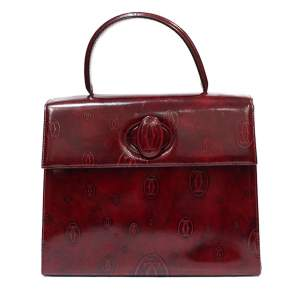 Bordeaux  leather Bag-0