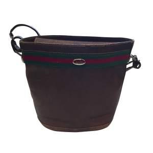 Vintage 1970 leather Bag -0