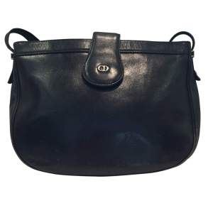 Vintage 1980s leather Bag-0
