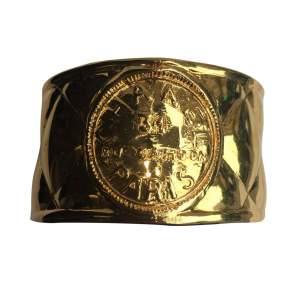 Rigid gold metal Cuff-0