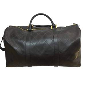 Leather weekend travel Bag-0