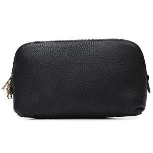 Dior black grained leather Kit purse-0