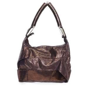 Gold reflective skin Bag-0