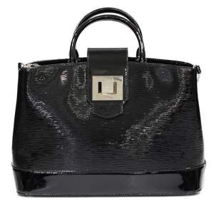 Black leather Mirabeau Bag-0