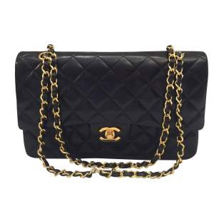 Quilted chocolate leather Bag-0