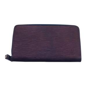 Blue and purple iridescent Wallet  -0
