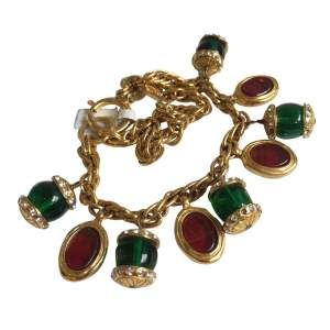 2 gold metal rows Bracelet -0