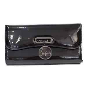 Black leather Clutch-0
