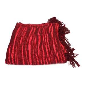 Yak wool red Scarf-0