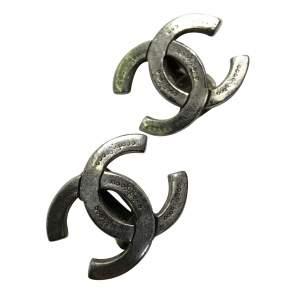Silver metal Earrings-0