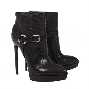 Python ankle Boots -0