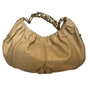 Beige leather Bag-0