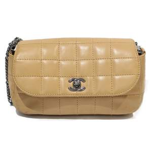 Leather beige Bag-0