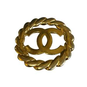Vintage Gold Brooch-0