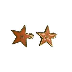 Vintage peach Earrings-0