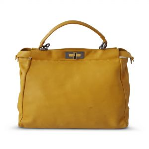 Peekabo Leather Bag -0
