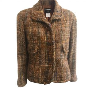Tweed Wool Jacket-0
