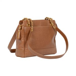 Grained Leather Bag -0