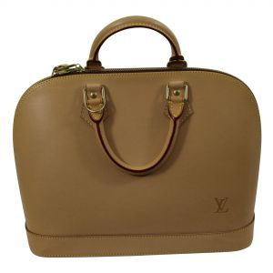 Alma Bag all in natural leather.-0