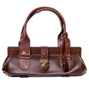 Leather Brown Bag-0