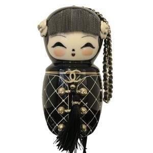 Chanel Enamel Doll Clutch - -0