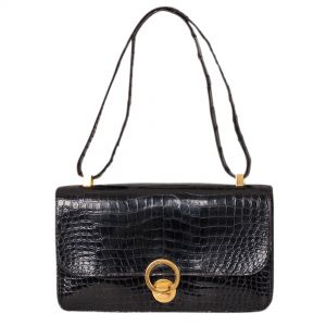 Vintage Crocodile Handbag-0