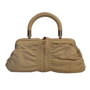 Light beige leather Bag-0