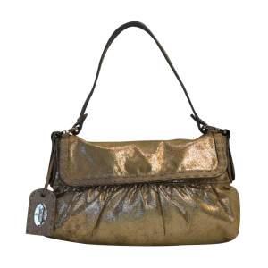 Golden leather Selleria Bag -0